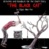 "Activities and Handouts for the Short Story ""The Black Cat"" by Edgar Allan Poe"