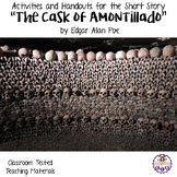 "Activities and Handouts for ""The Cask of Amontillado"" by Edgar Allan Poe"