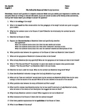 """Edgar Allan Poe's """"The Fall of the House of Usher"""" Study Questions"""