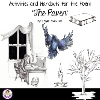 """Activities and Handouts for the Poem """"The Raven"""" by Edgar Allan Poe"""