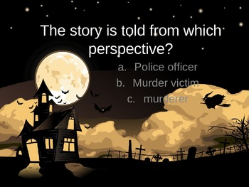 Edgar Allan Poe's The Tell-Tale Heart Review PPT