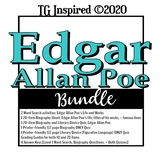 Edgar Allen Poe Biography BUNDLE: Word Search Figurative L