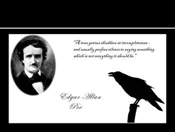 Edgar  Allan Poe Biography and Quiz