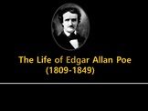 Edgar  Allan Poe Biography and Quiz