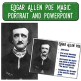 Edgar Allen Poe Magic Portrait Video & PowerPoint for Auth