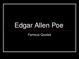 Edgar Allen Poe quotes