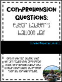 Edgar Badger's Balloon Day Comprehension Questions