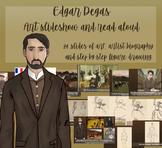 Edgar Degas Biography, Art Slides and Figure Drawing Powerpoint