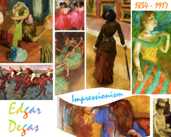 Edgar Degas Impressionism Art History FREE POSTER