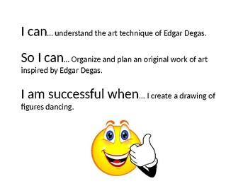 Edgar Degas Power Point Lesson