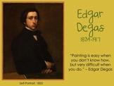 Edgar Degas Slideshow and Word Search