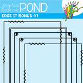 Frames - Edge It Bonus Set of Borders Great For Worksheet Edges!