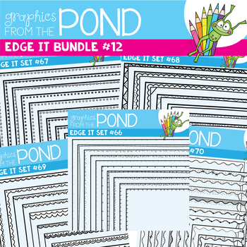 Edge It Borders Bundle 12