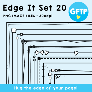 Edge It Borders - Set 20