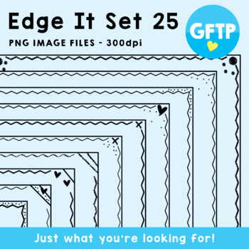 Edge It Borders - Set 25