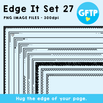 Edge It Borders - Set 27