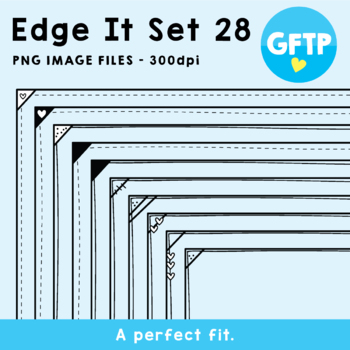 Edge It Borders - Set 28