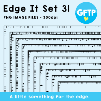 Edge It Borders - Set 31