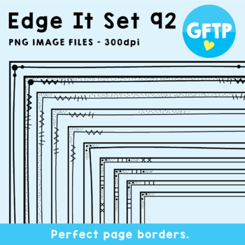 Edge It Borders - Set 92