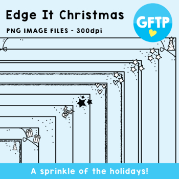 Edge It Christmas Border Frames
