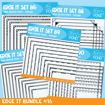 Edge It Frames {Borders} Bundle 16