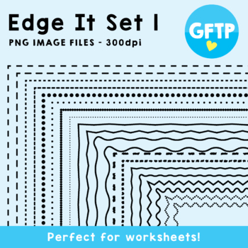 Edge It Borders - Set 1