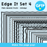 Edge It Set 4 -  Borders Great For Worksheet Edges!