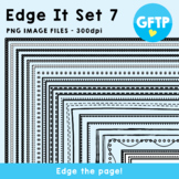 Edge It Set 7 -  Borders Great For Worksheet Edges!