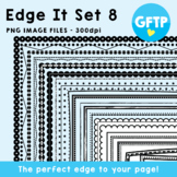 Borders - Edge It Set 8 -  Borders Great For Worksheet Edges!