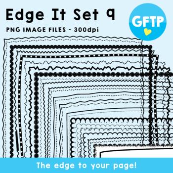 Edge It Set 9 -  Borders Great For Worksheet Edges!