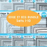 Edge It Ultimate Pack -  200 Borders Great For Worksheet Edges!
