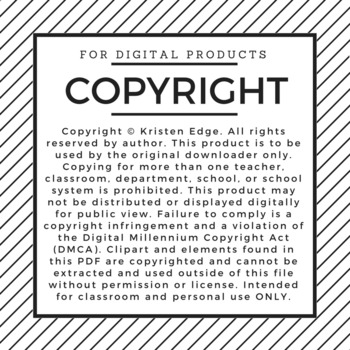 Edge on Education's Copyright Information