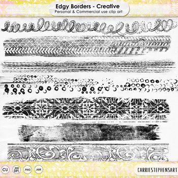 Edgy Borders - Creative