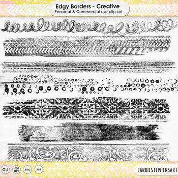 Edgy Borders - Creative