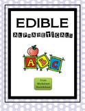 Edible Alphabeticals
