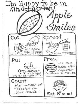 Edible Apple Smiles!