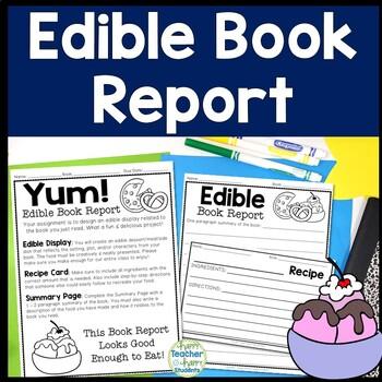 Edible Book Report: Directions, Recipe Card, Rubric & More!