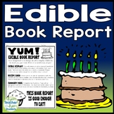 Edible Book Report Template: Directions, Recipe Card, Rubric & More!