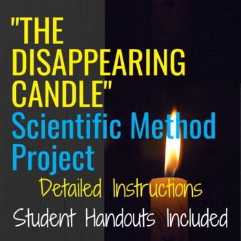Scientific Method Experiment: The Edible Candle