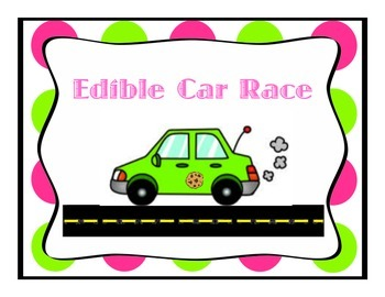 Edible Car Race