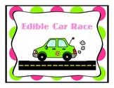 Edible Car Race