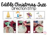Edible Christmas Tree Direction Strip FREE!