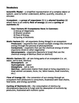 Edible Ecosystem Model