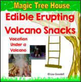 Edible Erupting Volcano Snacks