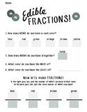 Edible M&M Fraction Worksheet