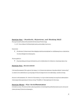 Edible Meteorite Lesson Plan