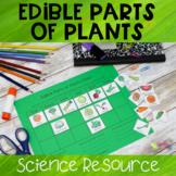Edible Parts of Plants Sorting Activity