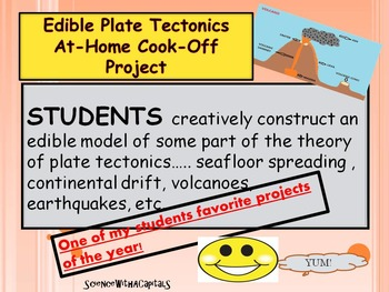 Edible Plate Tectonics Cook-Off At-Home Project