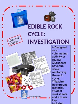 Edible Rock Cycle Investigation