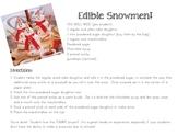 Edible Snowman
